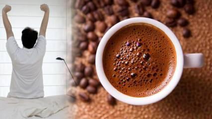 Uyandıktan sonraki 1 saatte içilen kahveye dikkat: Strese neden oluyor!
