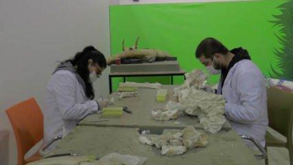 Dünyada tek olan 7,5 milyon yıllık fosil Kayseri'de bulundu!