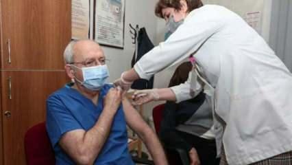 17 milyon aşılanan içinde kendisi de bulunan Kılıçdaroğlu: Türkiye'de aşı yok