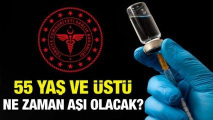 55 yaş üstü ne zaman aşı olacak? Sağlık Bakanlığı aşı tarihleri belli oldu!