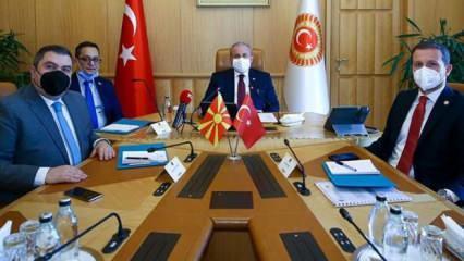 TBMM Başkanı Mustafa Şentop, Bojan Marichijk'i kabul etti