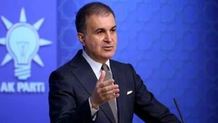 AK Parti Sözcüsü Çelik'ten Draghi'ye sert tepki: İtalya'dan bir özür bekliyoruz
