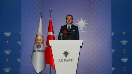 AK Parti Sözcüsü Ömer Çelik: Sessiz kalsaydık adı muhtıra olacaktı