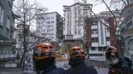 Ankara'da tahliye edilen binalarla ilgili açıklama