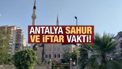 Antalya İmsakiye 2021: Diyanet Antalya sahur saatleri ve iftar vakti