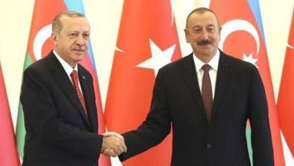 Azerbaycan Cumhurbaşkanı Aliyev'den Türkiye açıklaması!