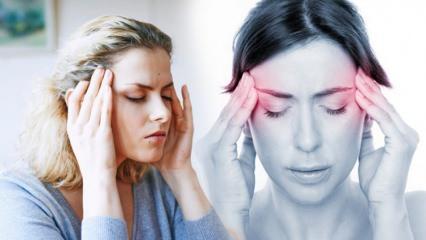 Baş ağrısı neden olur? Baş ağrısına ne iyi gelir? Baş ağrısını geçiren etkili yöntemler
