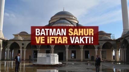 Batman İmsakiye 2021: Diyanet Batman sahur saatleri ve iftar vakti