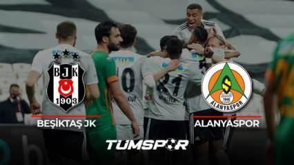 Beşiktaş Alanyaspor maçı geniş özeti ve golleri (BeIN Sports) Kara Kartal Alanya'ya 3 attı!