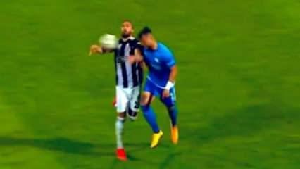 Beşiktaş'ın golünden önce elle oynama itirazı!