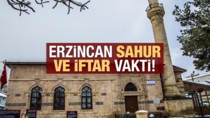Erzincan İmsakiye 2021: Diyanet Erzincan sahur saatleri ve iftar vakti