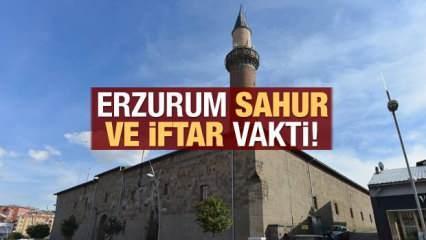 Erzurum İmsakiye 2021: Diyanet Erzurum sahur saatleri ve iftar vakti