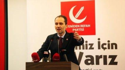 Fatih Erbakan'dan hadsiz bildiriye sert tepki