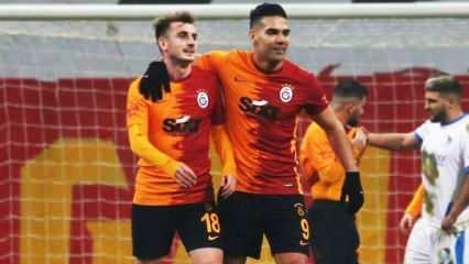 Galatasaray'da şok! Falcao ve Kerem Aktürkoğlu hastaneye kaldırıldı