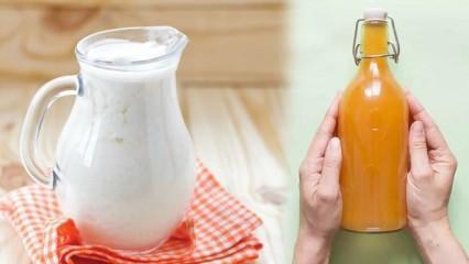 Kanserden korunmak için mutlaka tüketin, Kefir, elma sirkesi, tarhana çorbası...