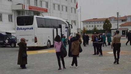 Karaman'da yolcu otobüsünde koronavirüslü yolcu çıktı! 16 kişi karantinaya alındı