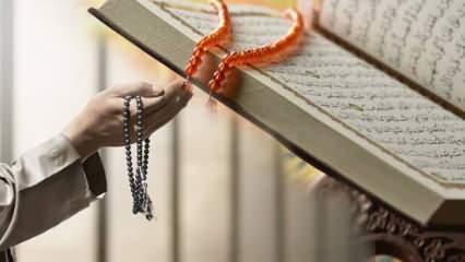 Kenzül Arş Duası faziletleri nelerdir? Kenzül Arş duası Türkçe okunuşu...