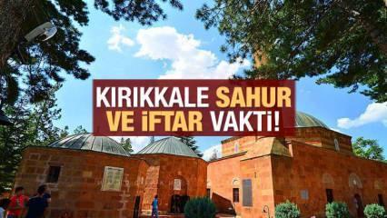 Kırıkkale İmsakiye 2021: Diyanet Kırıkkale sahur saatleri ve iftar vakti