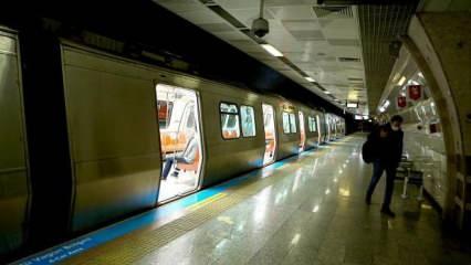 Son dakika haberi: İstanbul'da tam kapanma boyunca metro seferlerine düzenleme