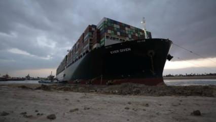 Mısır'dan 'The Ever Given' gemisi kararı! 1 milyar dolar...