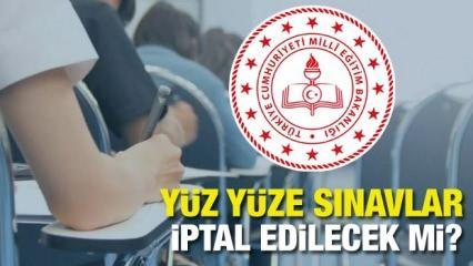 Ortaokul 5,6,7. lise 9,10,11. sınavları iptal mi oldu? MEB'den kritik sınav açıklaması geldi!