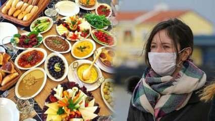 Pandemi döneminde sağlıklı oruç tutmanın püf noktaları!