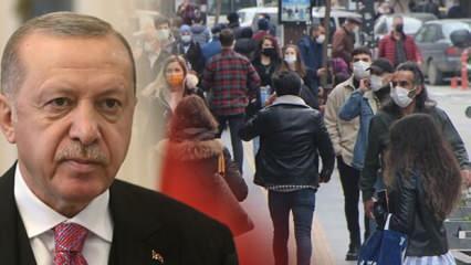 Ramazan'da tam kapanma olacak mı? Cumhurbaşkanı Erdoğan'dan kritik açıklama