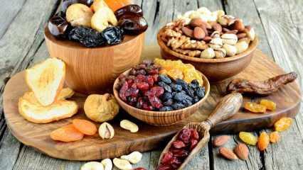 Sindirimin dostu: Kuru meyvelerin faydaları nelerdir? Ramazan boyu kuru meyve tüketirseniz...