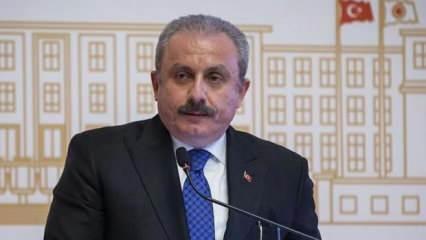TBMM Başkanı Şentop, Kuveyt Dışişleri Bakanı El-Sabah'ı kabul etti