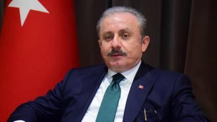TBMM Başkanı Şentop'tan Türk Kızılay'ına destek