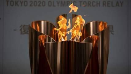 Tokyo Olimpiyatları meşale turuna Covid engeli