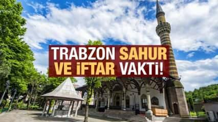 Trabzon İmsakiye 2021: Diyanet Trabzon sahur saatleri ve iftar vakti