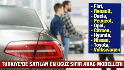 Türkiye'nin en ucuz 2021 model sıfır araçları: Peugeot Renault Dacia Opel Hyunda Citroen fiyatı