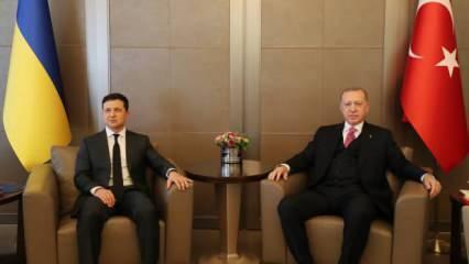 Zelenskiy-Erdoğan görüşmesi sona erdi