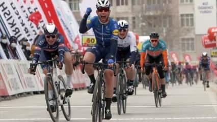 Cumhurbaşkanlığı Bisiklet Turu 2. etabının kazananı Mark Cavendish!