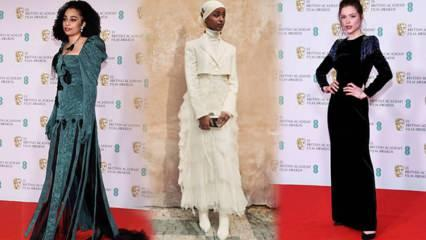 BAFTA Ödülleri'nde kırmızı halı şıklığı!