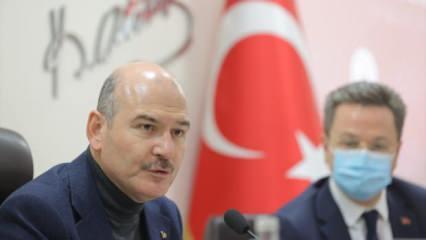 """Bakan Soylu: """"21 milyonu aşkın hizmet vatandaşa ulaştırıldı"""""""