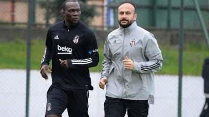 Beşiktaş'ta Aboubakar sevinci!