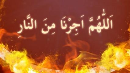 Cehennemden koruyan zikir: Allahumme ecirna minennar fazileti! Allahumme ecirna minennar nedir?