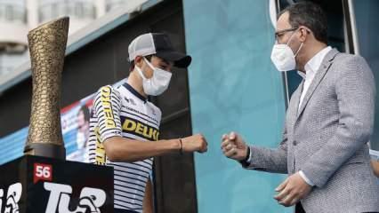 Cumhurbaşkanlığı Bisiklet Turu'nu Gallego kazandı