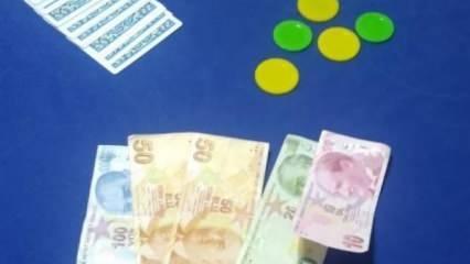 Kütahya'da kumar oynayan 12 kişiye para cezası uygulandı