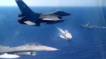 Ege ve Doğu Akdeniz'de 100 savaş uçağı ve İHA'larla tatbikat başlattılar
