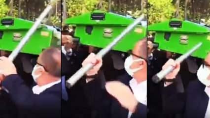 Fatih Terim'in cenazede yaşadığı talihsizlik