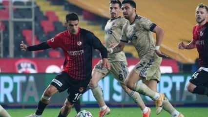 Fenerbahçe - Gaziantep FK! Muhtemel 11'ler