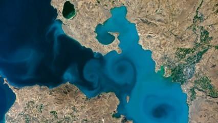 Fuat Oktay, NASA yarışmasında finale kalan Van Gölü fotoğrafına destek istedi