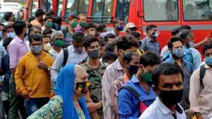 Hindistan'da Kovid-19 salgınında günlük vaka sayısı 261 bini aştı