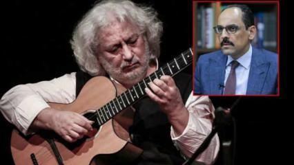 İbrahim Kalın'ın şarkısında imzası bulunan Erkan Oğur ilk kez konuştu!