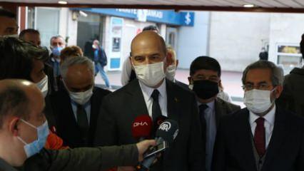 İçişleri Bakanı Soylu'dan Yıldırım Akbulut'un ailesine taziye ziyareti