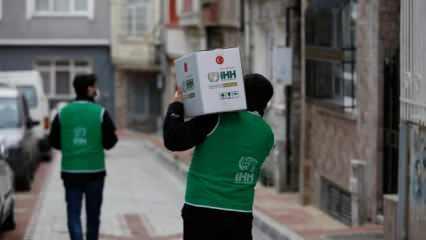 İHH'dan İstanbul'da binlerce aileye kumanya dağıtımı