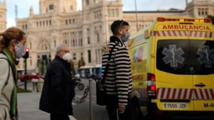 İspanya'da koronavirüsten bir günde 99 can kaybı